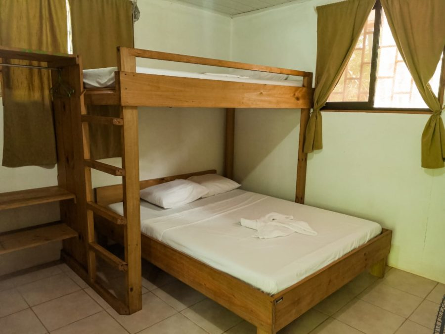 Rooms with private bathrooms